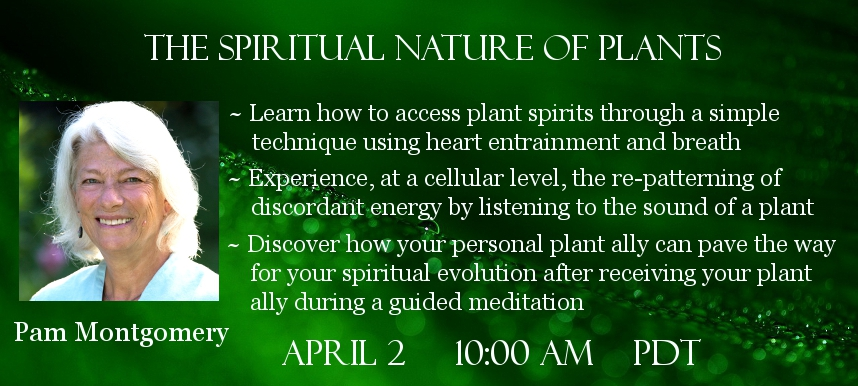 Pam Montgomery Guardian Spirits of Nature telesummit