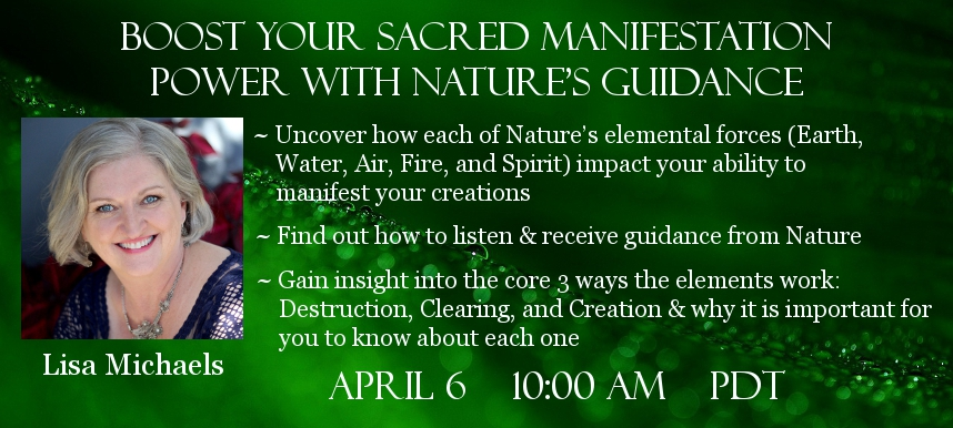 Lisa Michaels Guardian Spirits of Nature telesummit
