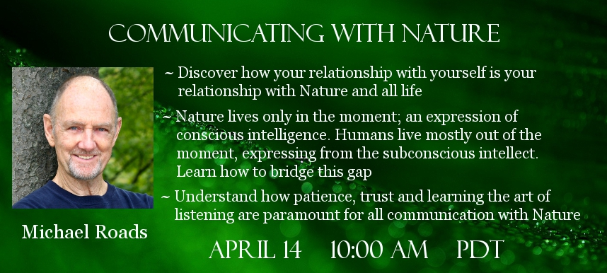 Michael Roads Guardian Spirits of Nature Telesummit
