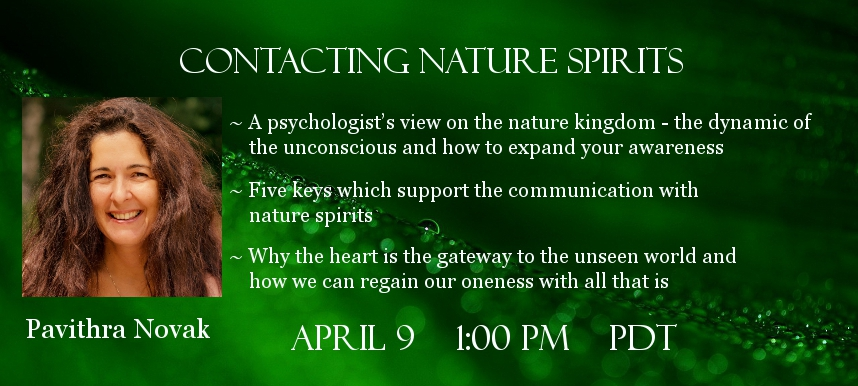 Pavithra Novak Guardian Spirits of Nature telesummit