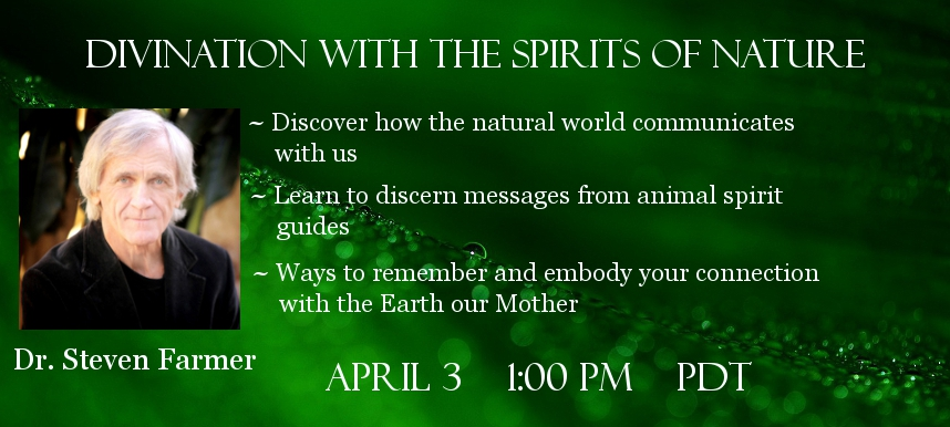 Steven Farmer Guardian spirits of Nature telesummit