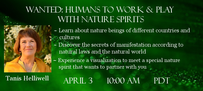 Tanis Helliwell Guardian Spirits of Nature Telesummit